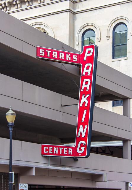 Tony Stark's Parking Center