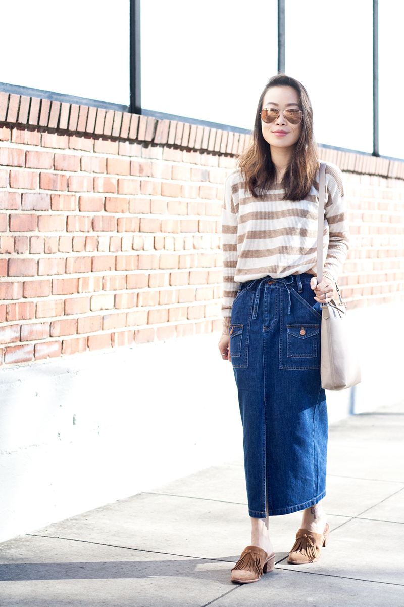 04madewell-denim-skirt-stripes-sweater-suede-mules