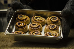 2016-01-22 Cinnamon Rolls at Hodgdon 013