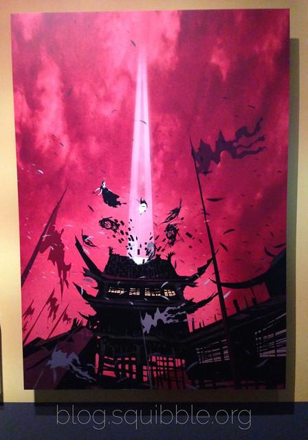 Dreamworks Animation Exhibition 2016 Kung Fu Panda