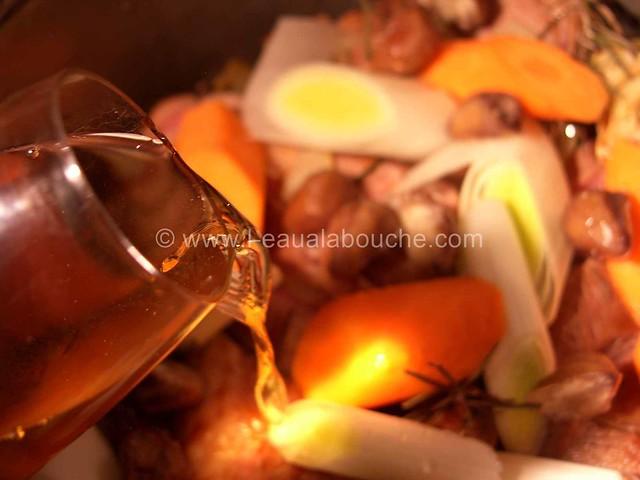 Veau Braisé Au Jurançon Légumes & Chataignes © Ana Luthi Tous droits réservés 08