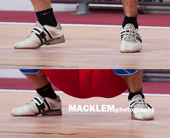 2013 Worlds; foot movent in snatch
