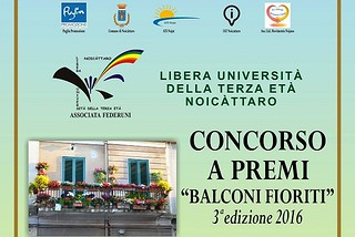Noicattaro. Balconi Fioriti 2016 front