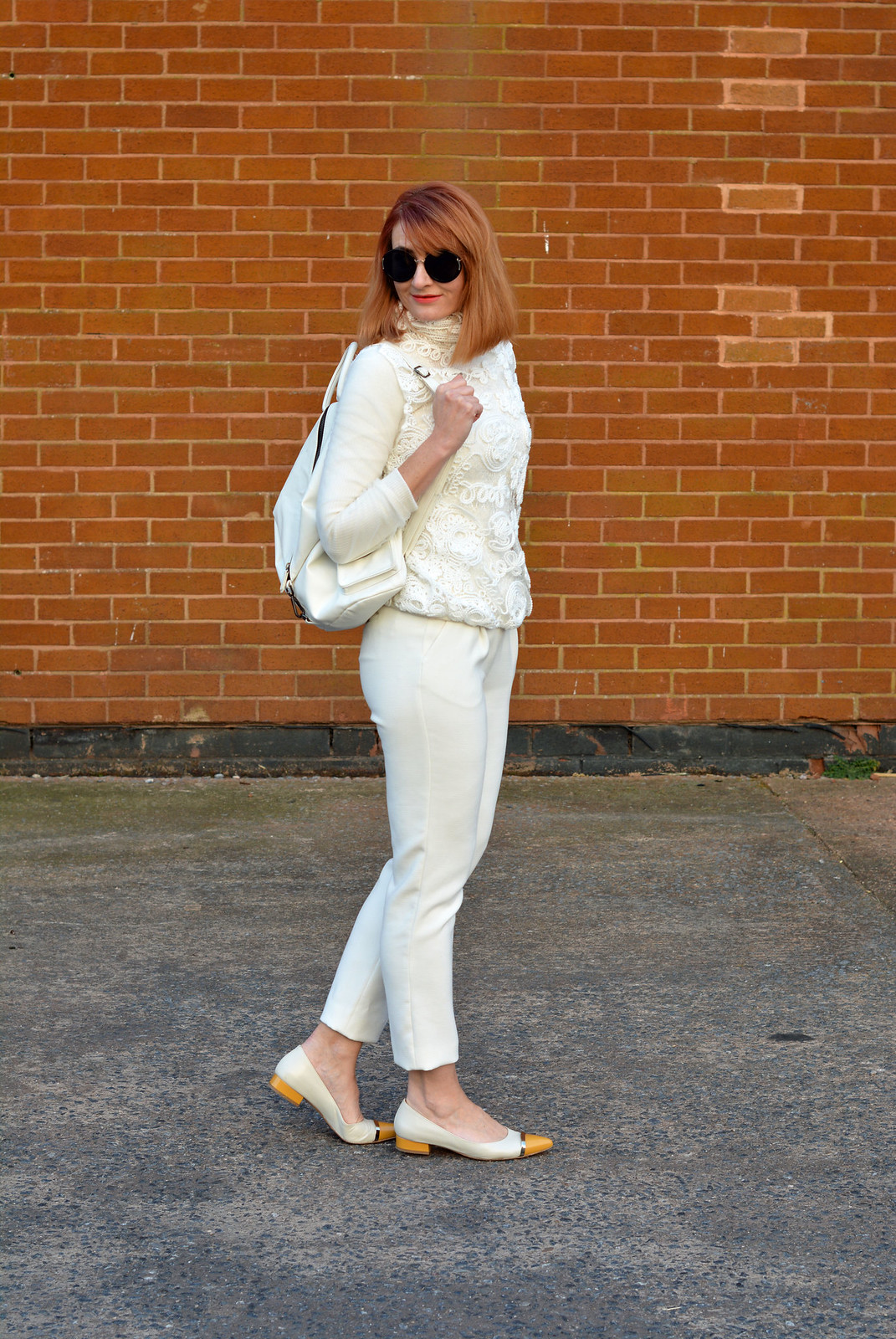 Head-to-toe white | Not Dressed As Lamb