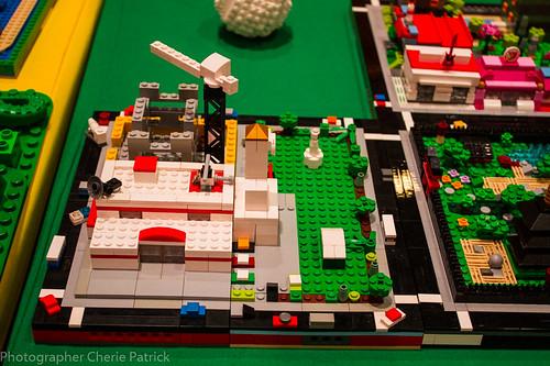 Reuben Cosgrove: Urban Block: Ambulance Center, Construction site, Hall and gardens.