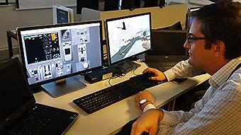 LATAM Airlines B787 Simulador 1 (RD)
