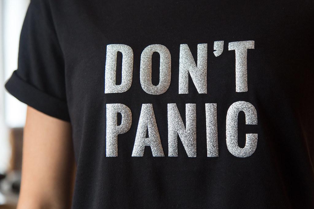 Don't panic - What happened?