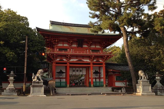 2016/03 今宮神社の楼門