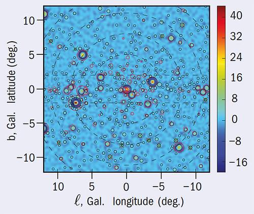 Mapa de rayos gamma de Fermi