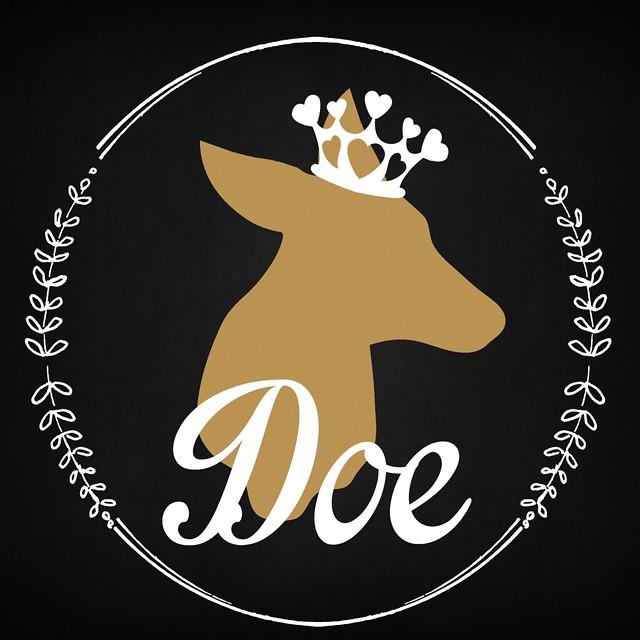 Doe Black Logo