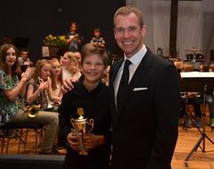 Lukas Hjortlinger - vinnare i solisttävlingen grupp 2