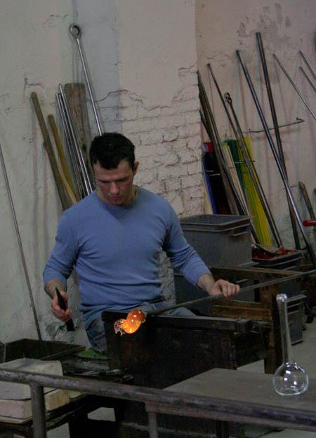 Un maestro vidriero de Murano. © Paco Bellido, 2007