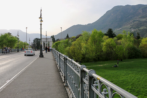 Talfer Brücke Ponte Talvera Bozen Bolzano Südtirol Alto Adige Blogger-Reise Booking Südtirol www.bookingsuedtirol.com