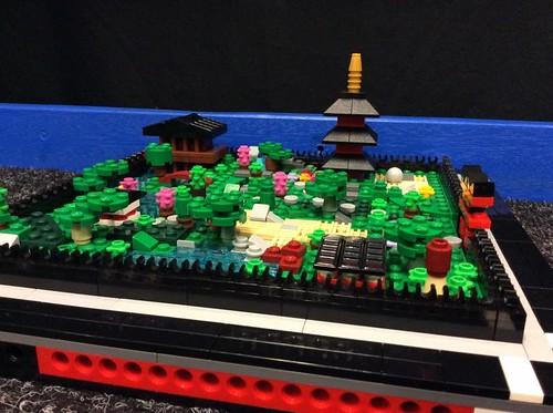 Cherie Patrick: Ninjago Gardens Japanese inspired gardens.