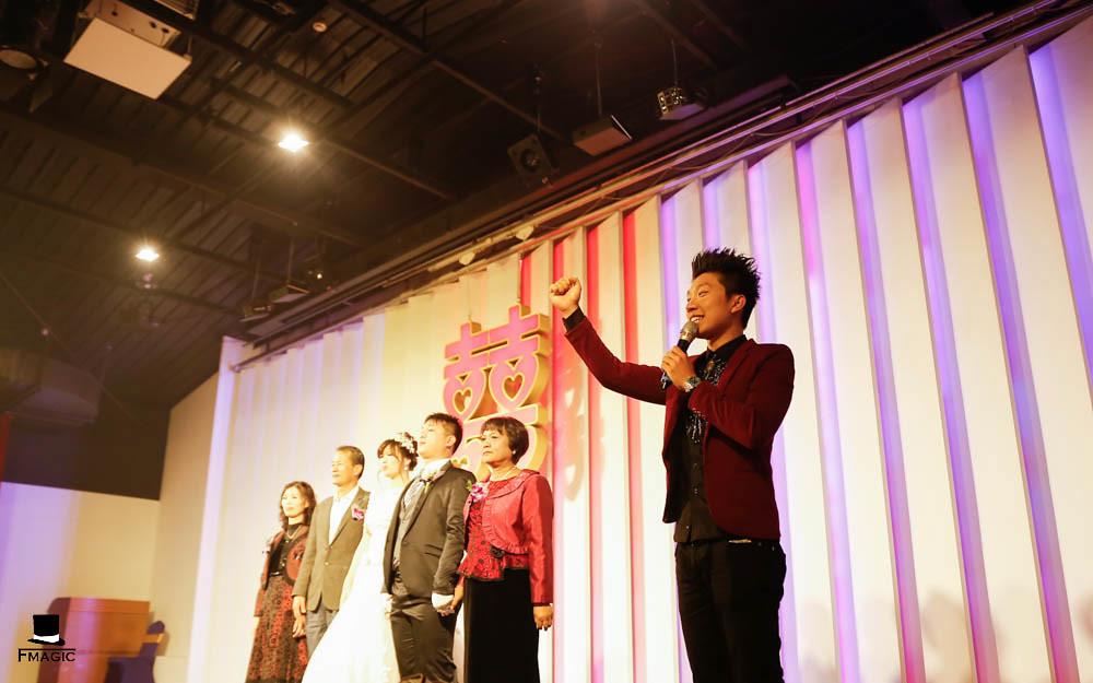【魔術師法拉利】魔術表演/婚禮主持/婚禮表演/魔術師推薦/魔術師價位