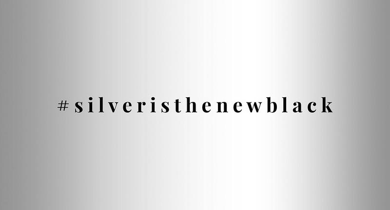 The UK 30-40 Plus Blogger Meet #silveristhenewblack