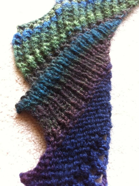 handspun Brickless WIP (2)