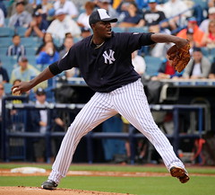 Michael Pineda pitches vs. Braves