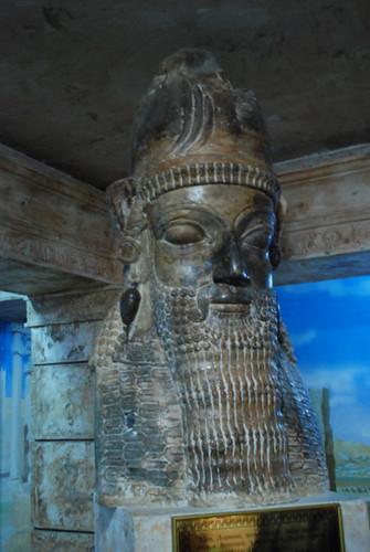 museum persian asia bust tajikistan aryan darius khujand тоҷикистон sughd осорхона хуҷанд суғд