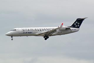 Star Alliance (Adria Airways) Bombardier CRJ-200LR (CL-600-2B19) S5-AAG