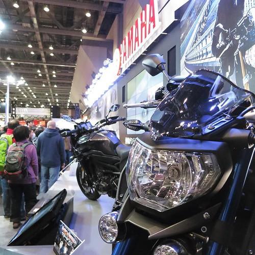 バイクって、顔つきがギョロリって感じ。 #東京モーターサイクルショー