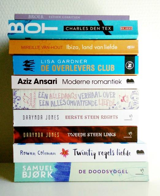 Gelezen boeken maart 2016