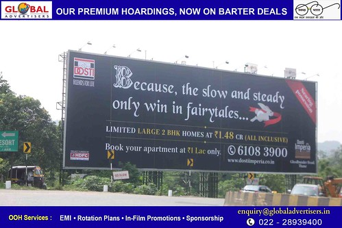 Outdoor Advertising Agency  in KHAR ROAD - Global Advertisers