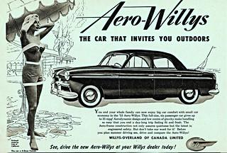 1953 Willys Aero Falcon Sedan