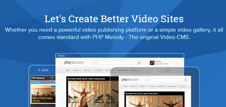 PHP Melody v2.7.3 – Create Better Video Sites