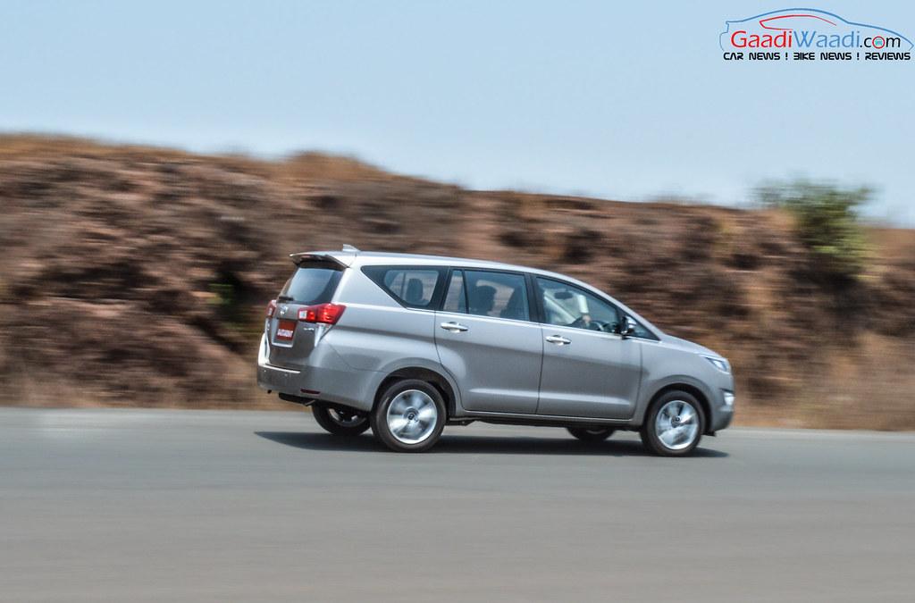 Toyota Innova Crysta side pics 2