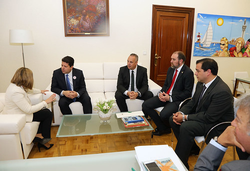 19-04-2016 Visita del Ministro Principal a Cádiz