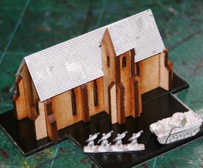 Topic: 6mm MDF Church