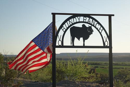 Bundy Ranch gate, near Bunkerville NV