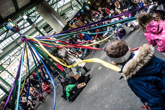 Street Dance the Maypole