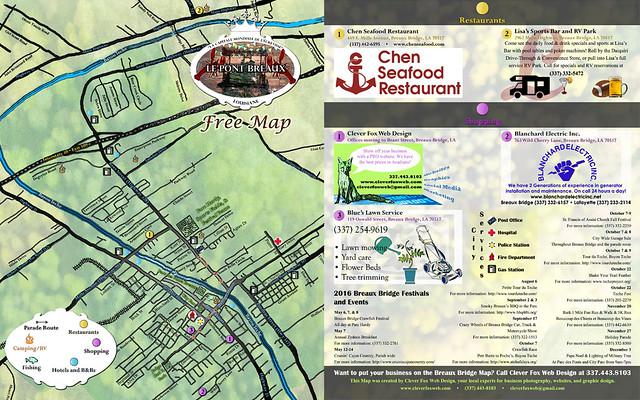 Free Map of Breaux Bridge, Louisiana