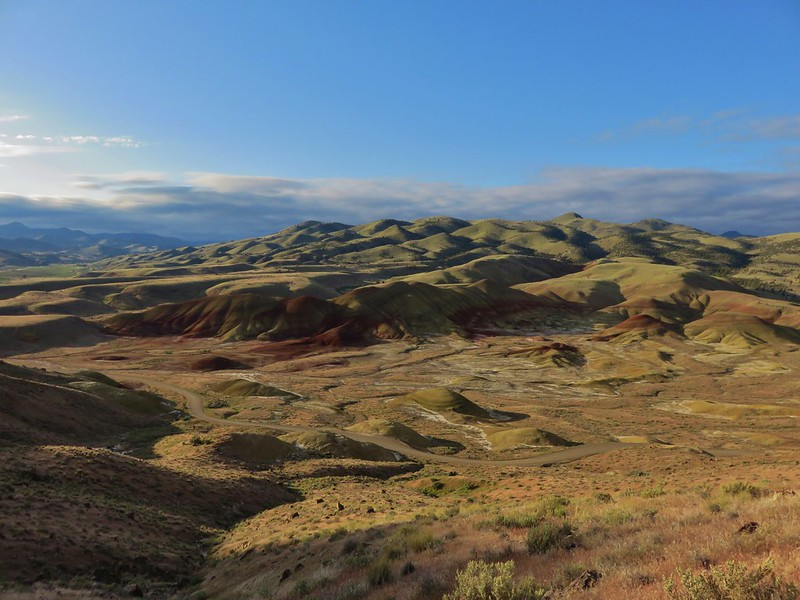 Painted Hills from the Carroll Rim Trail