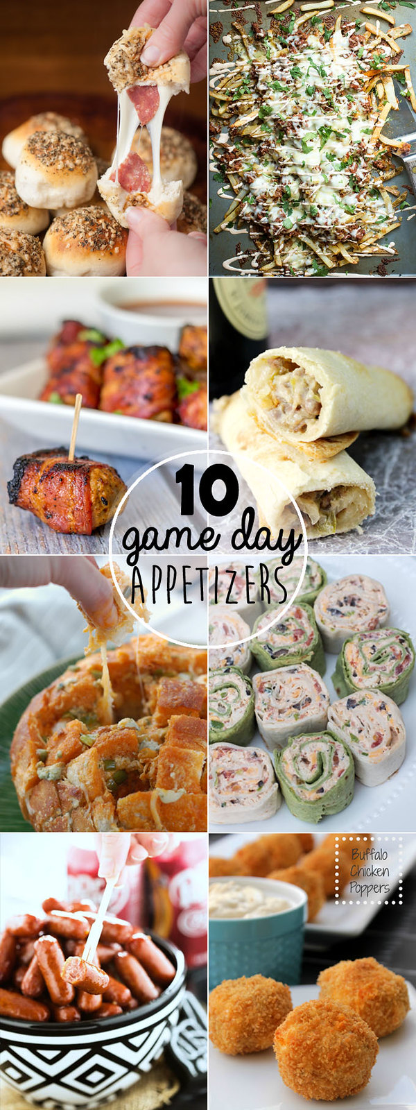 Ten game day recipes that will help you get your grub on! Grab yourself a cold one and let's eat!!