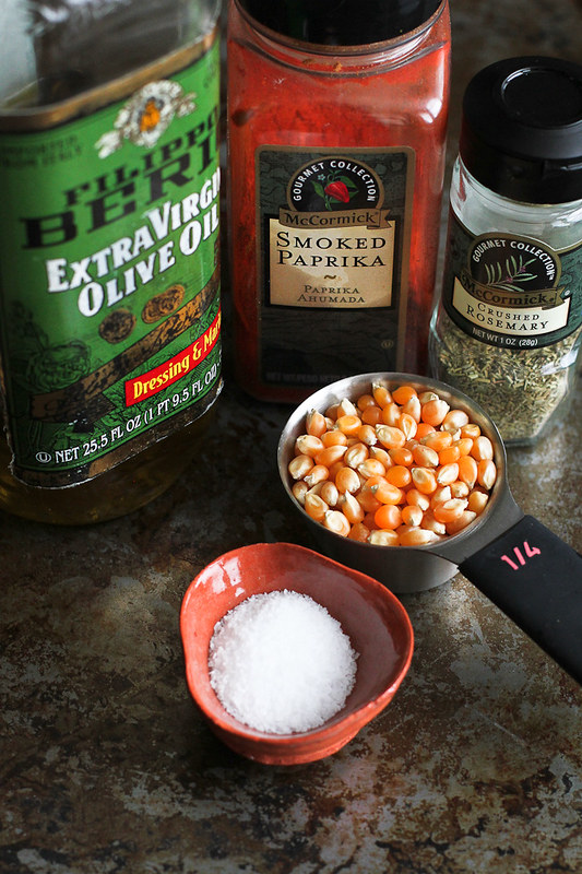 Smoked Paprika and Rosemary Olive Oil Popcorn Recipe…An addictive whole grain snack! 101 calories and 3 Weight Watcher SmartPoints