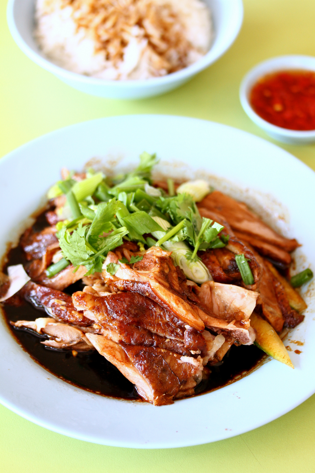 Downtown MRT Line Hawker Food: Heng Gi Tekka