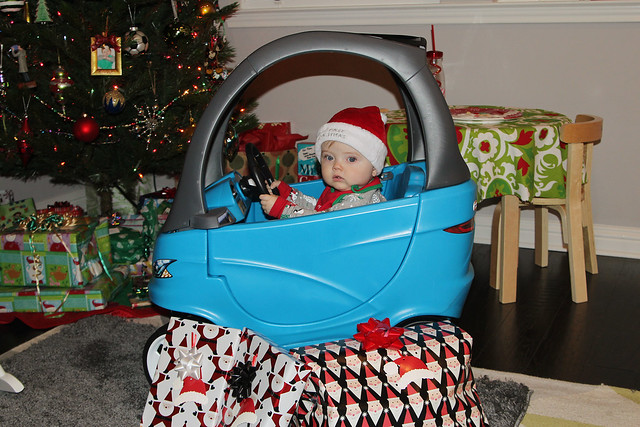 Finn got a car!