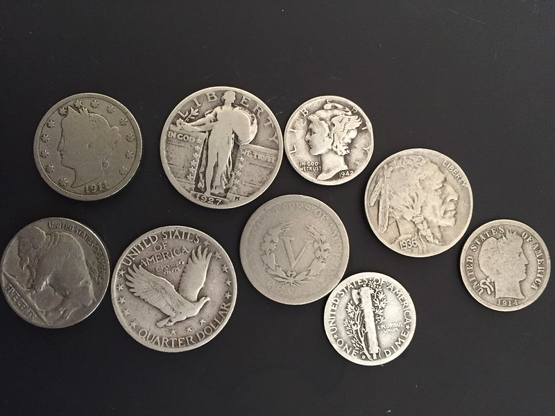 a few old coins