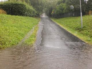 Massive rain in Oulu