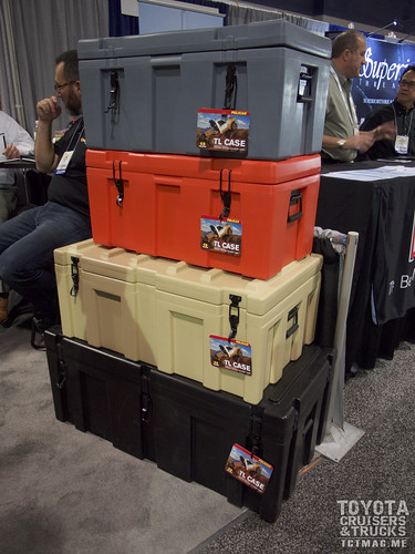 Pelican has a new lineup of expedition-style roto-molded cases made for overloading to your next destination. Various sizes and colors available.