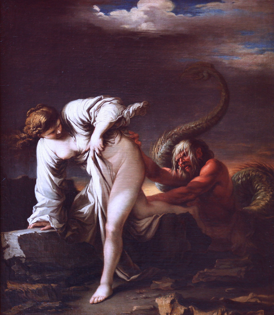 Salvator Rosa - Glaucus and Sylla, 1661