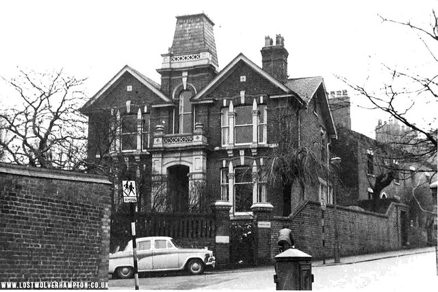 Wadhams House became the home of the Kidson Family. Wolverhampton Grocers.