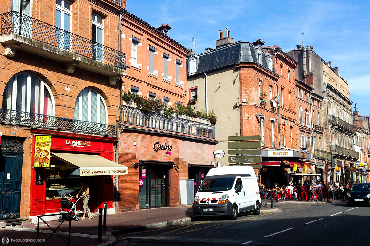 In the streets of Toulouse