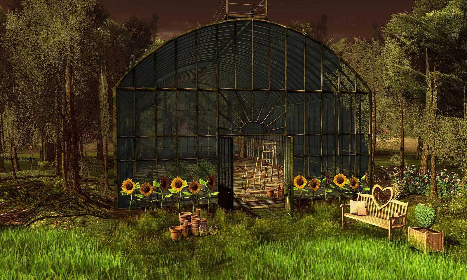 Antique Greenhouse