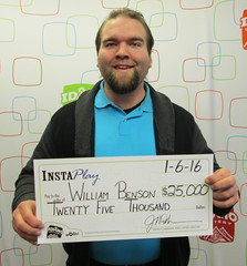 William Benson - $25,000 InstaPlay Bingo
