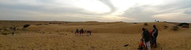 Jaisalmer desert panorama