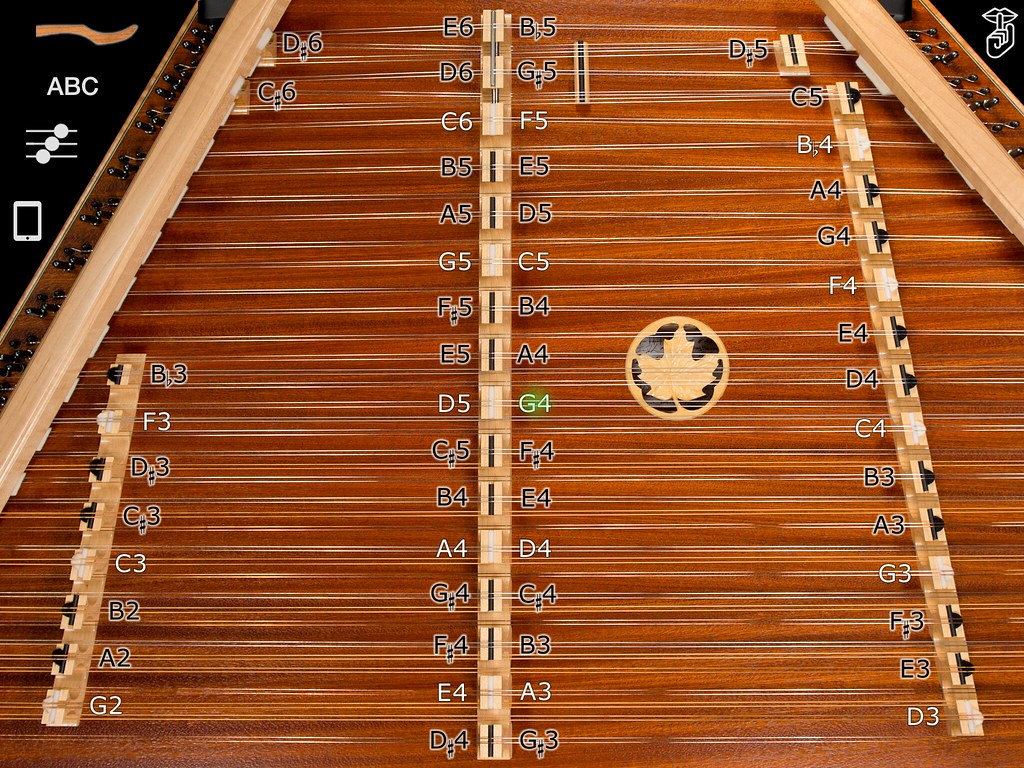 Dusty Strings Hammered Dulcimer iOS Apps